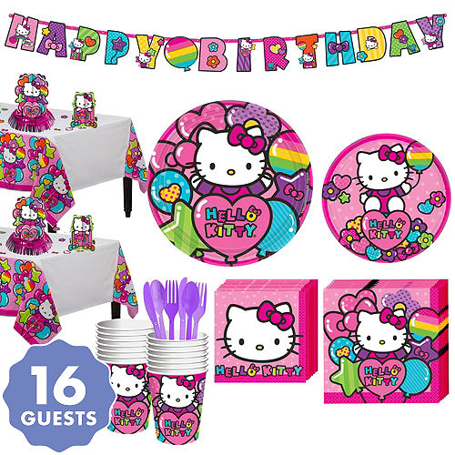 4a6576da7 Hello Kitty Party Supplies - Hello Kitty Birthday Ideas | Party City