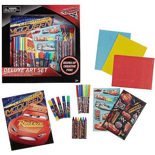 Cars 3 Art Set 23pc | Party City