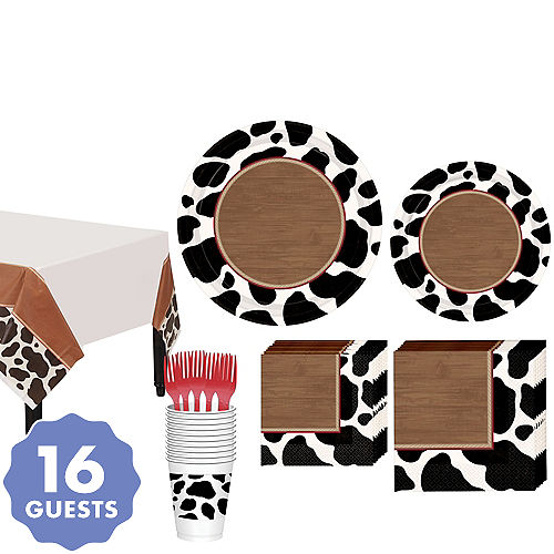Yeehaw Western Tableware Kit For 16 Guests