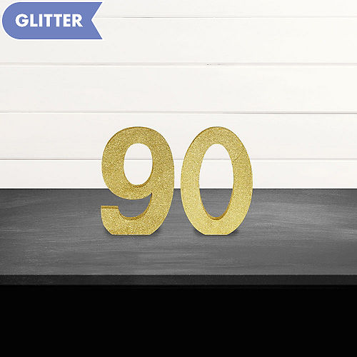 Glitter Gold 90 Sign Kit