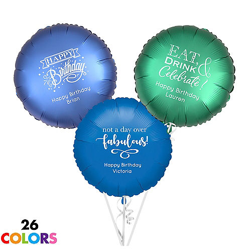 custom balloons personalized balloons party city