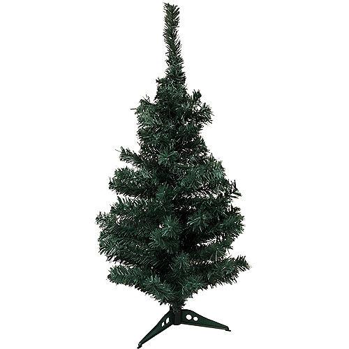Evergreen Tinsel Christmas Tree