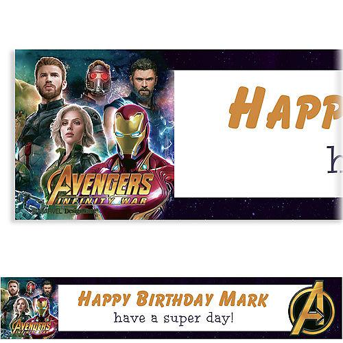 Custom Avengers Banner
