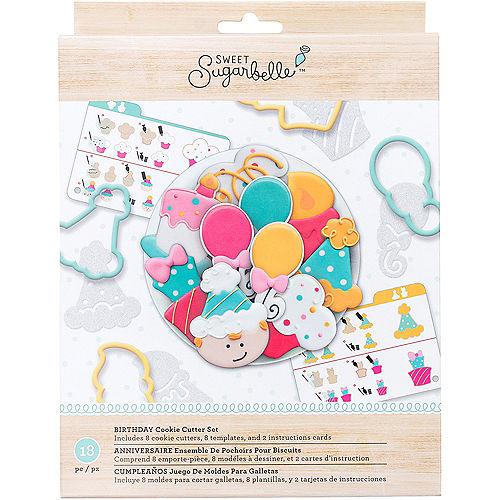 Sweet Sugarbelle Birthday Cookie Cutter Set 18pc