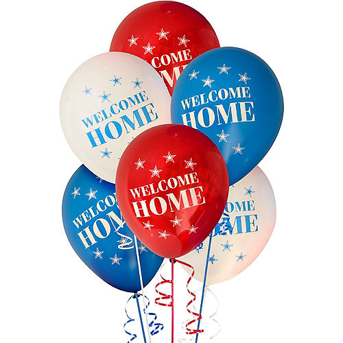 US Military Welcome Home Balloons 6ct