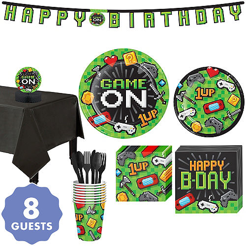65d6f120cc8 Video Game Party Supplies - Gamer Birthday
