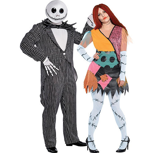 plus size nightmare before christmas couples costumes - Nightmare Before Christmas Halloween Costume