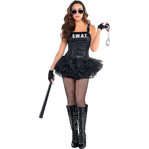 Adult Hot SWAT Costume