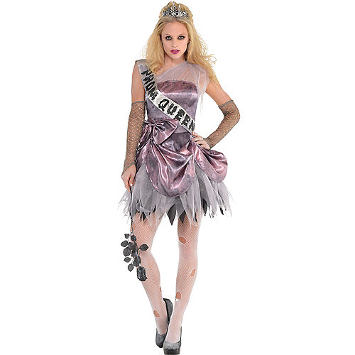 Teen Girls Zombie Prom Queen Costume | Party City