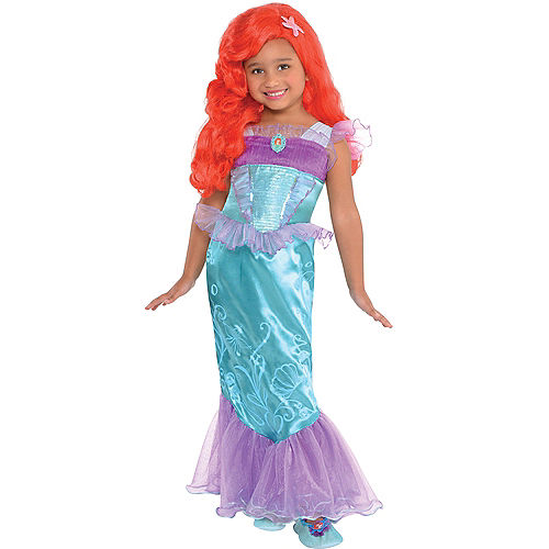 Girls Ariel Costume - The Little Mermaid | Party City