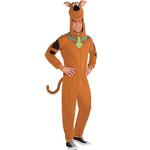 Adult Zipster Scooby-Doo One Piece Costume