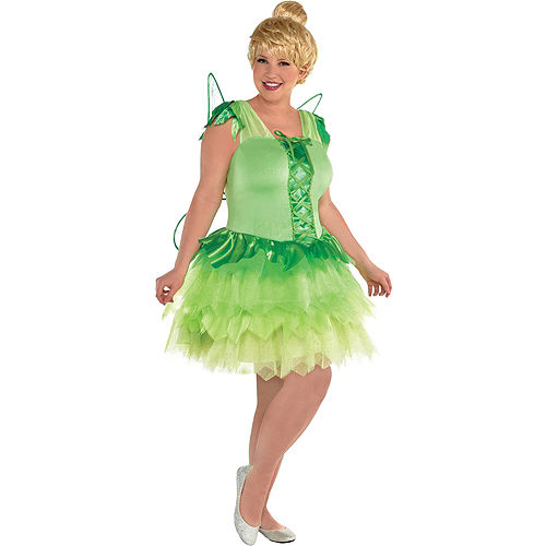 11742e083 Adult Tinker Bell & Captain Hook Couples Costumes Plus Size - Peter ...