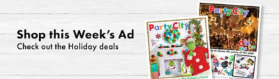coupons & promo codes | party city