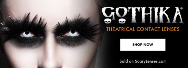 Gothika Theatrical Contact Lenses — Shop Now