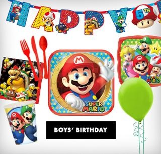 Boys' Birthday Themes