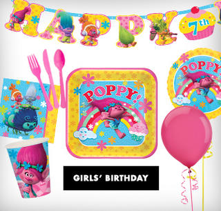Girls' Birthday Themes