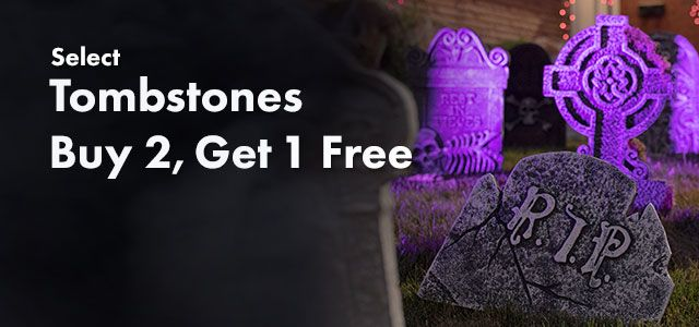 Tombstones -- Buy 2, Get 1 Free