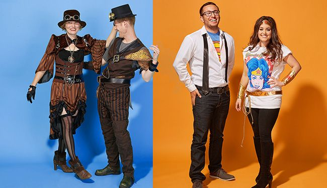 Halloween Costume Ideas for Couples and BFFs