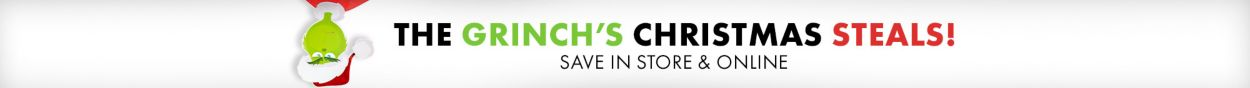 The Grinch's Christmas Steals! Save In Store and Online