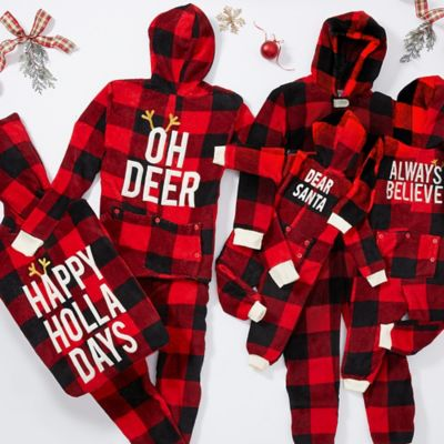 Buffalo Plaid Family Pajamas