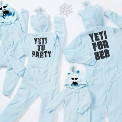 Yeti Family Pajamas