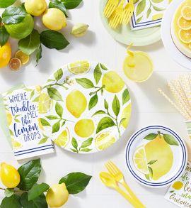 Spring Lemons Tableware