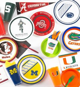 NCAA Party Supplies