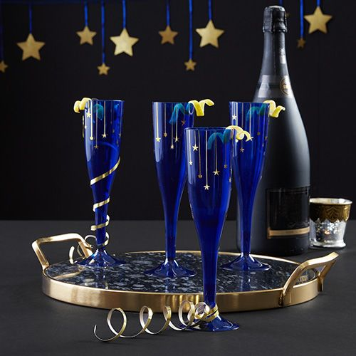 New Year's Midnight Theme Party Supplies