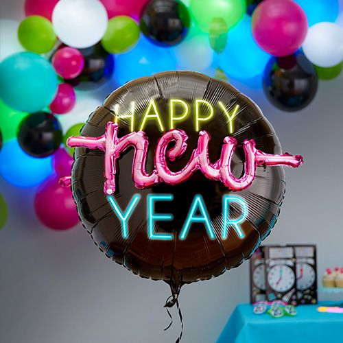 New Year's Eve Neon Theme Party Supplies