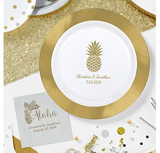 Personalized Party Supplies Tableware