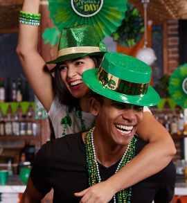 St. Patrick's Day is March 17th
