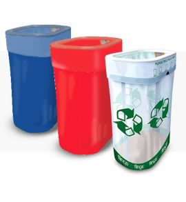 Pop-up Trash Bins